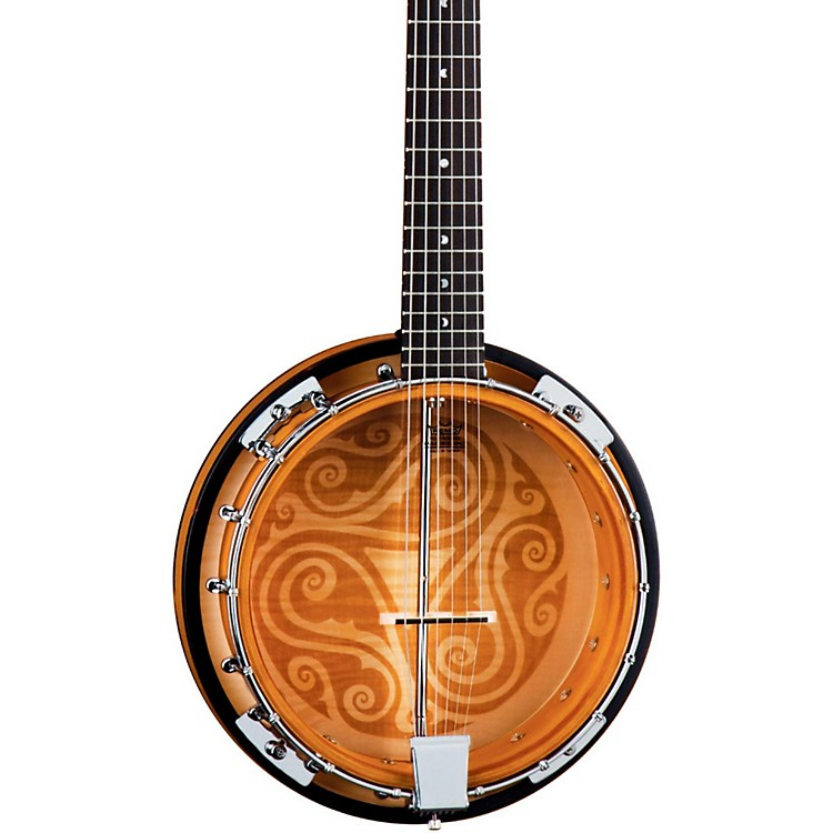 Luna Guitars Celtic 6-String Banjo  888365848495