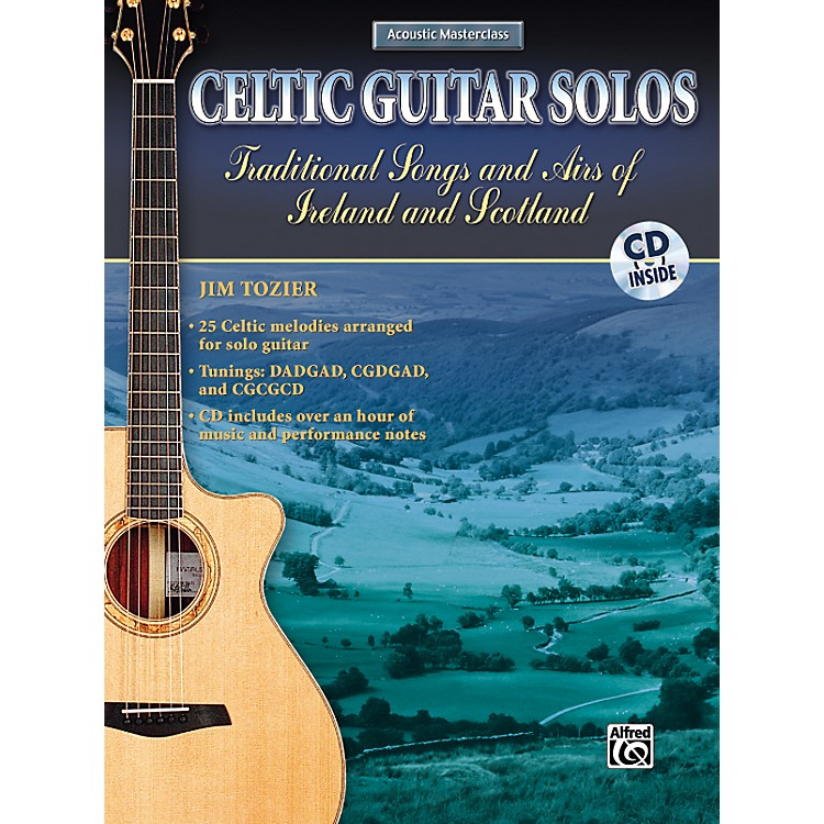 AlfredCeltic Guitar Solos Book with CD
