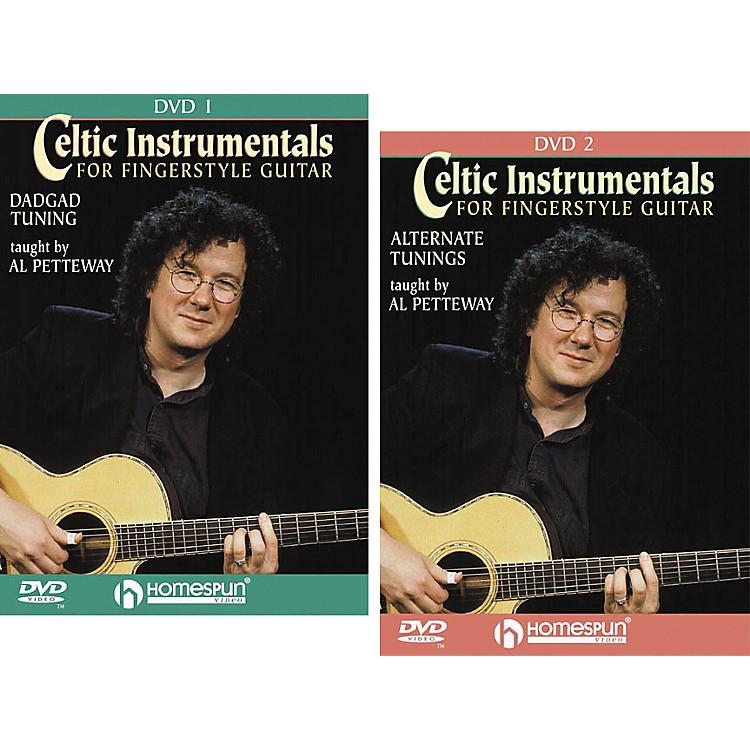HomespunCeltic Instrumentals for Fingerstyle Guitar (2-DVD Set)