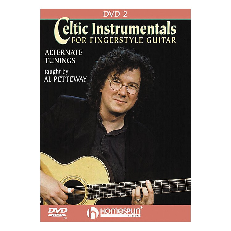 HomespunCeltic Instrumentals for Fingerstyle Guitar 2 (DVD)