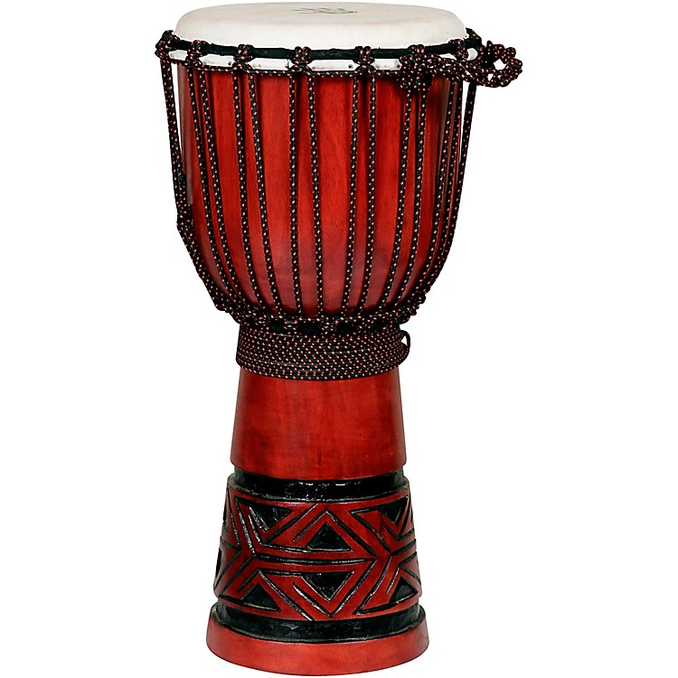 X8 DrumsCeltic Labyrinth Djembe Drum10 x 20 in.
