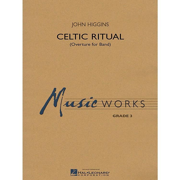 Hal LeonardCeltic Ritual (MusicWorks Grade 3) Concert Band Level 3 Composed by John Higgins