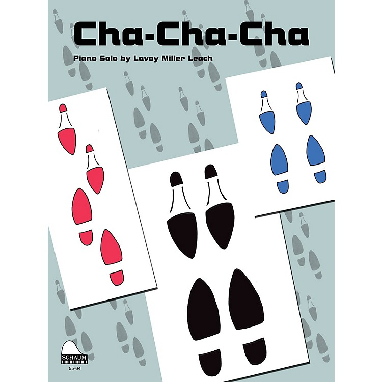 SCHAUMCha-Cha-Cha Educational Piano Series Softcover