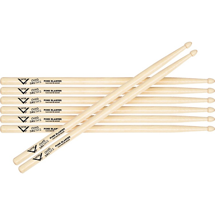Vater Chad Smith Signature Funkblaster Drumsticks, Buy 3 Get 1 Free