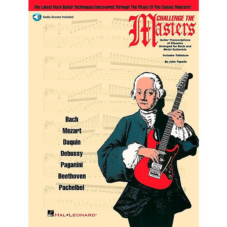 Hal LeonardChallenge The Masters Guitar School Book with CD