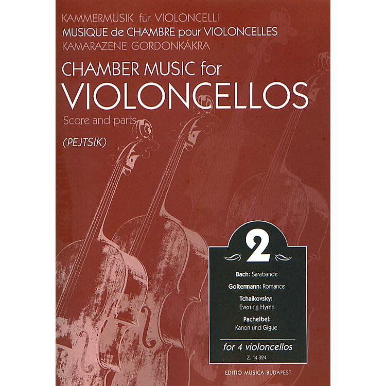 Editio Musica BudapestChamber Music for Four Violoncellos - Volume 2 EMB Series