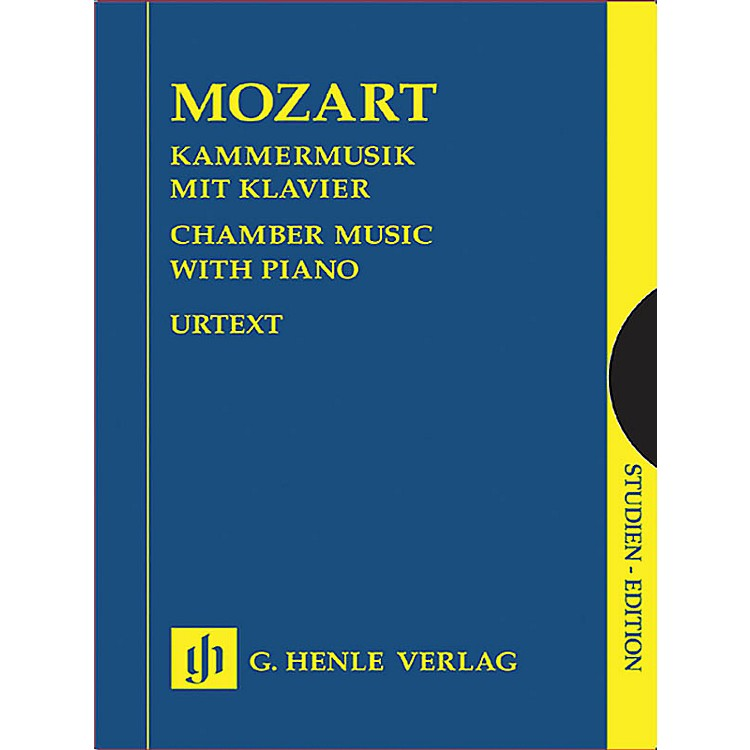G. Henle VerlagChamber Music with Piano (Study Score) Henle Study Scores Series Softcover by Wolfgang Amadeus Mozart