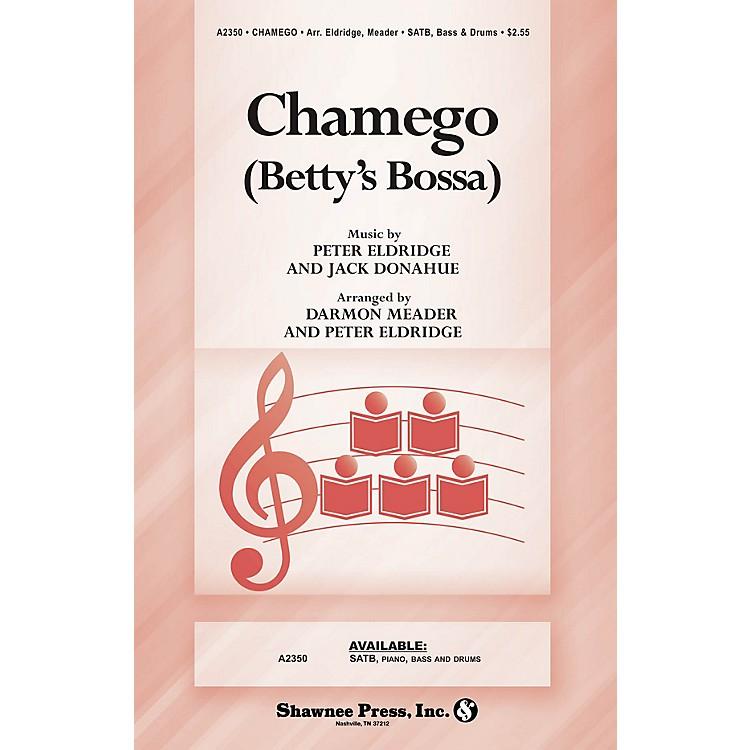 Shawnee PressChamego (Betty's Bossa) SATB arranged by Peter Eldridge