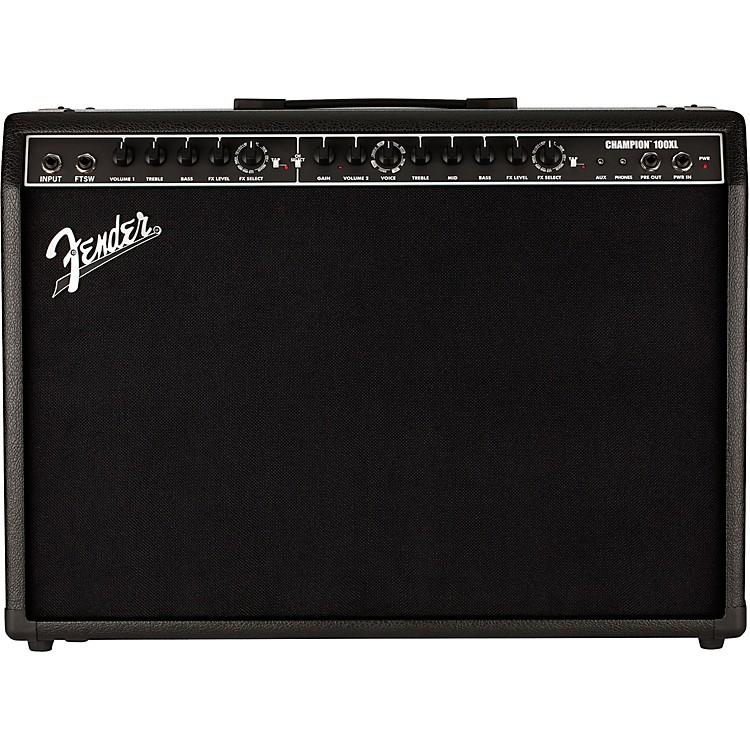 FenderChampion 100XL 100W 2x12 Guitar Combo AmpBlack