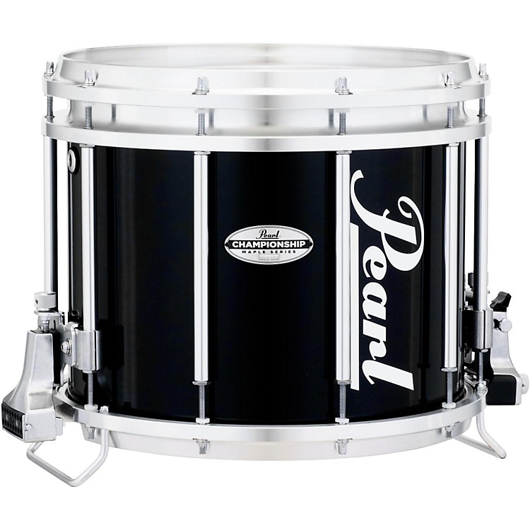 PearlChampionship Maple FFX Marching Snare Drum13 x 11 in.Midnight Black