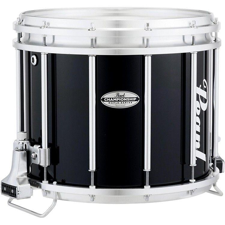 PearlChampionship Maple FFX Marching Snare Drum14 x 12 in.Midnight Black
