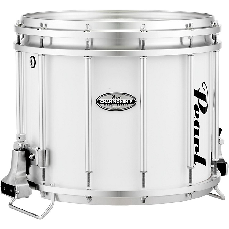 PearlChampionship Maple FFX Marching Snare Drum14 x 12 in.Pure White