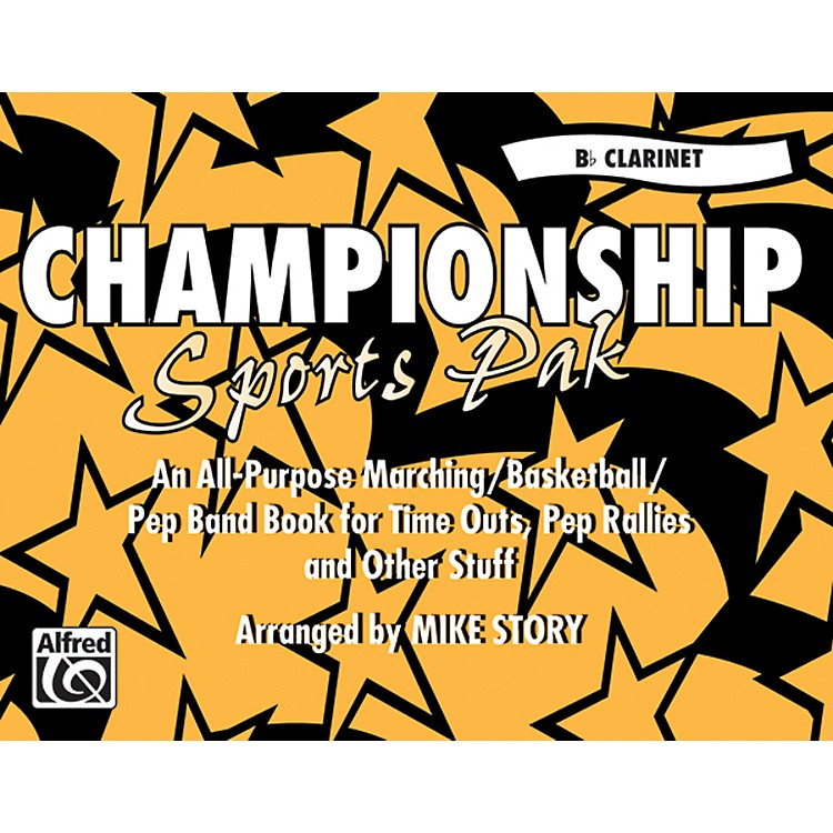 AlfredChampionship Sports Pak B-Flat Clarinet