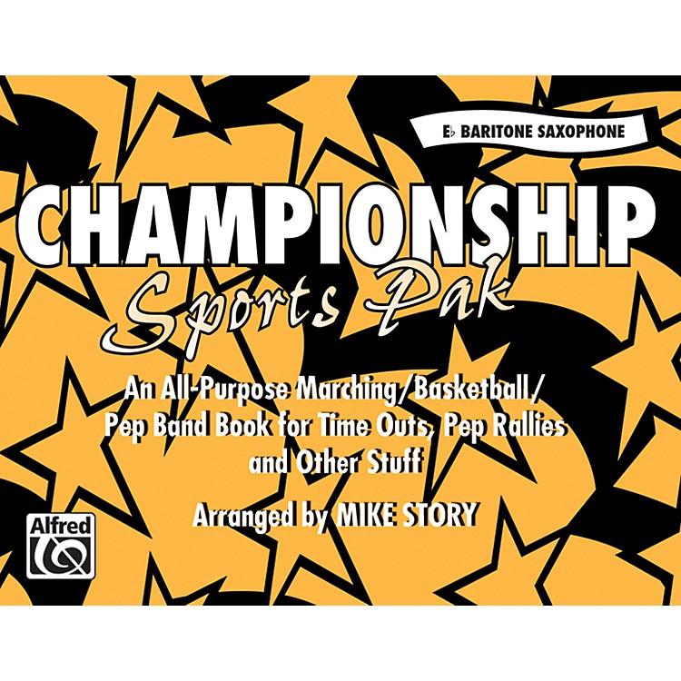 AlfredChampionship Sports Pak E-Flat Baritone Saxophone