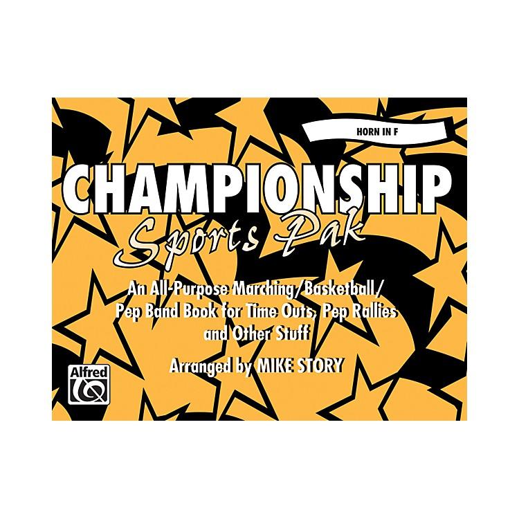 AlfredChampionship Sports Pak Horn in F
