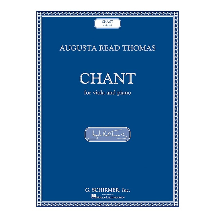 G. SchirmerChant (Viola and Piano) String Series Softcover