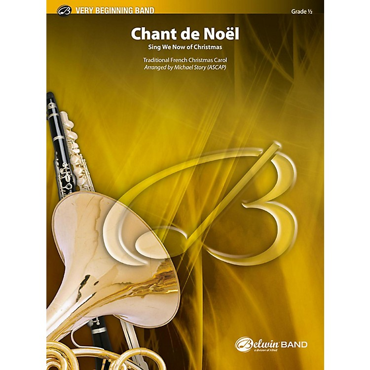 BELWIN Chant de Noel Grade 0.5 (Very Easy)