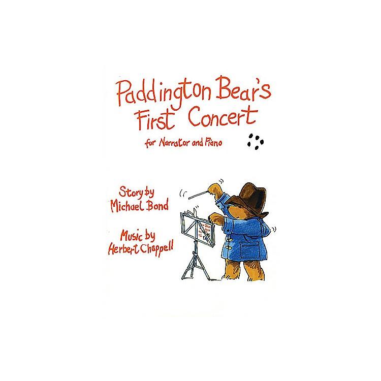 Music SalesChappell: Paddington BearÆs First Concert Music Sales America Series