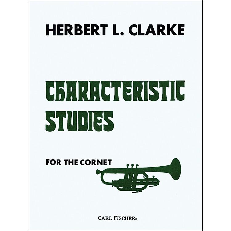 Carl FischerCharacteristic Studies for Cornet