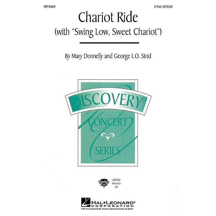 Hal LeonardChariot Ride (with Swing Low, Sweet Chariot) 2-Part