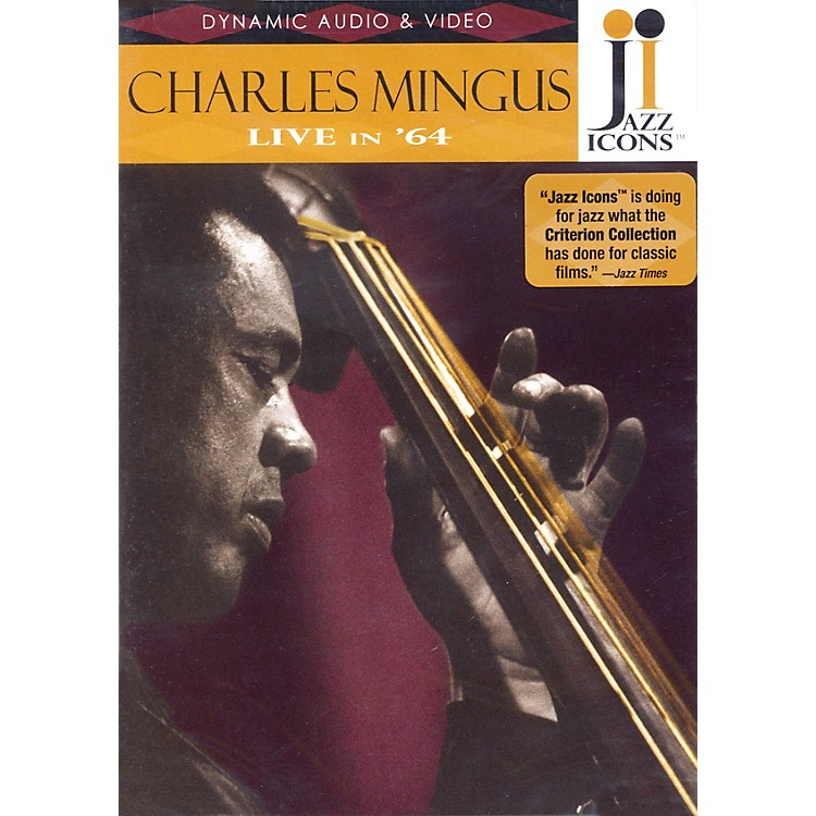 Jazz IconsCharles Mingus - Live in '64 Live/DVD Series DVD Performed by Charles Mingus