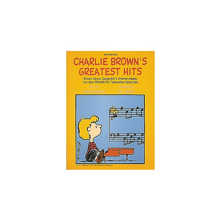 Hal LeonardCharlie Brown's Greatest Hits For Easy Piano by Dan Fox