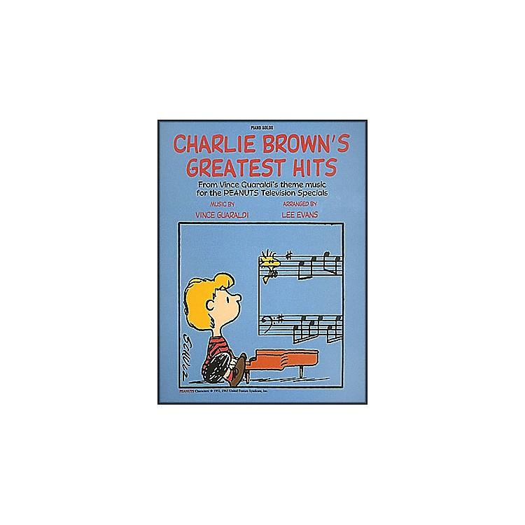 Hal LeonardCharlie Brown's Greatest Hits Piano Solos