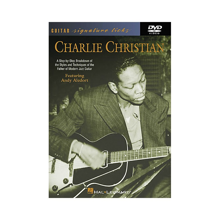 Hal Leonard Charlie Christian - Guitar Signature Licks (DVD)