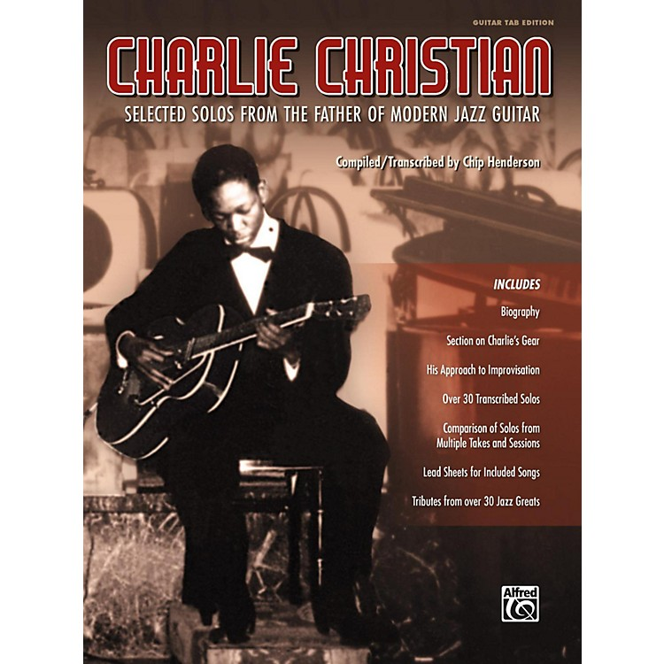 AlfredCharlie Christian Guitar TAB Edition Songbook