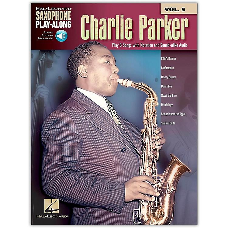 Hal LeonardCharlie Parker - Saxophone Play-Along Vol. 5 Book/Online Audio