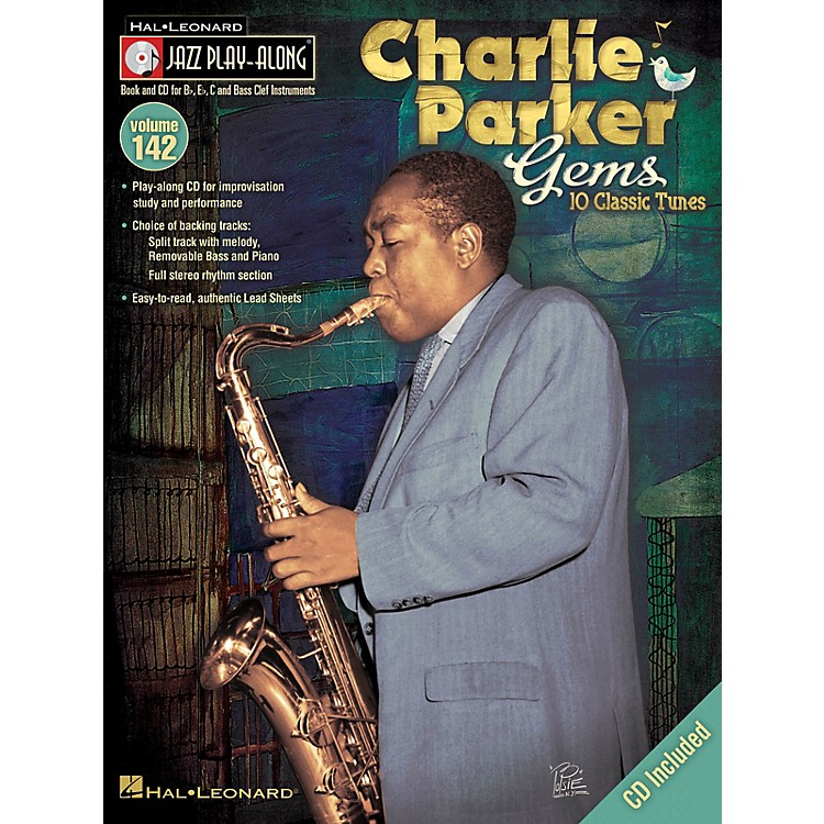 Hal LeonardCharlie Parker Gems Jazz Play Along Series Softcover with CD Performed by Charlie Parker