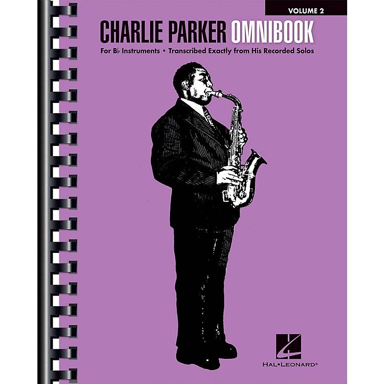 Hal LeonardCharlie Parker Omnibook - Volume 2 for B-flat Instruments