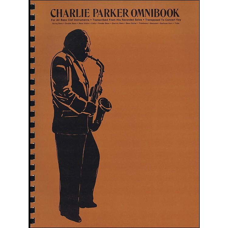 Hal LeonardCharlie Parker Omnibook for Bass Clef Instruments