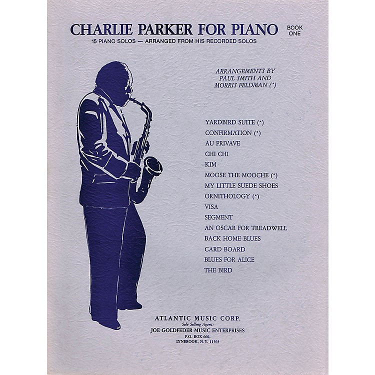 CriterionCharlie Parker for Piano - Book 1 Criterion Series Softcover Performed by Charlie Parker