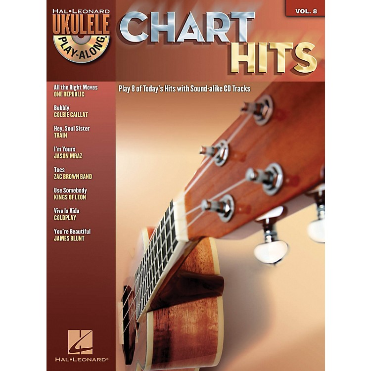 Hal LeonardChart Hits - Ukulele Play-Along Series Volume 8 Book/CD