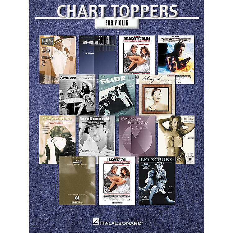 Hal Leonard Chart Toppers Instrumental Folio Series