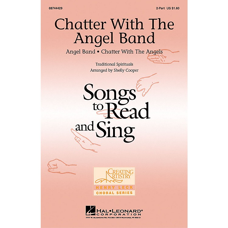 Hal LeonardChatter with the Angel Band 2-Part arranged by Shelly Cooper