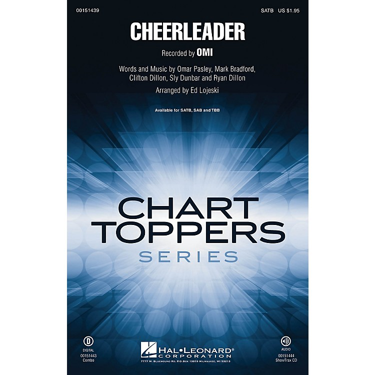 Hal LeonardCheerleader TBB by Omi Arranged by Ed Lojeski