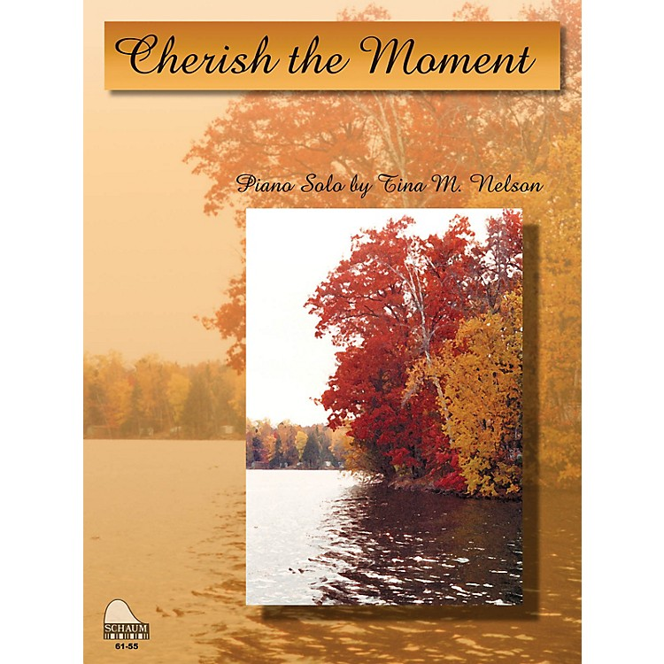 SCHAUMCherish The Moment Educational Piano Series Softcover