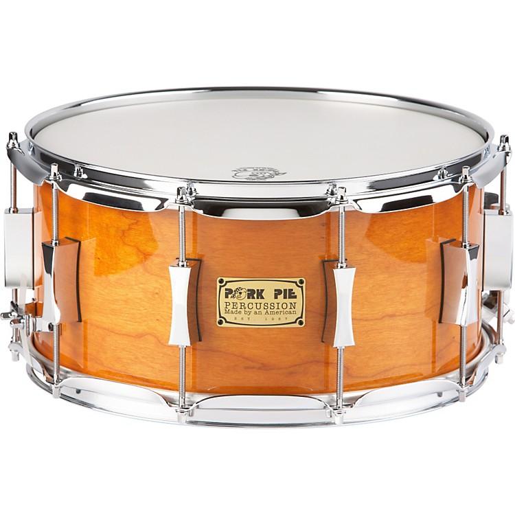 Pork PieCherry Pie Cherry/Bubinga  Snare Drum14 x 7Candy Orange