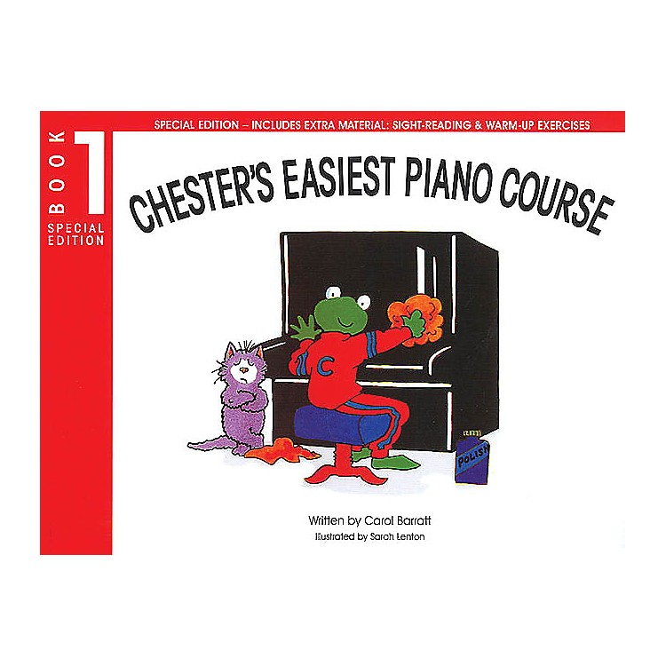 Music SalesChester's Easiest Piano Course - Book 1 (Special Edition) Music Sales America Series