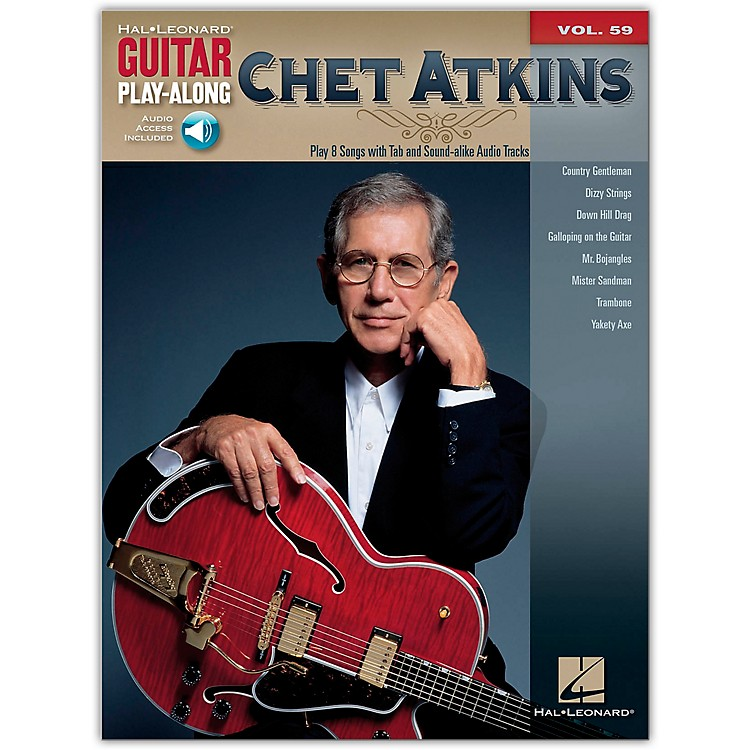 Hal Leonard Chet Atkins - Guitar Play-Along Volume 59 Book/CD