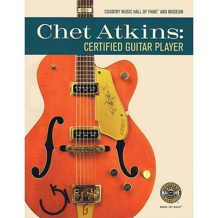 Hal LeonardChet Atkins: Certified Guitar Player Book