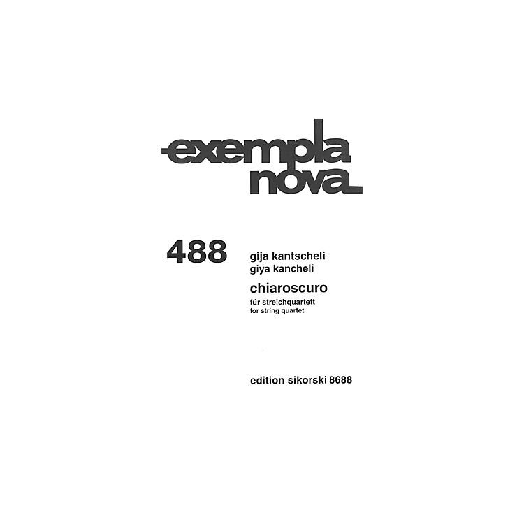 SikorskiChiaroscuro (String Quartet) Ensemble Series Softcover Composed by Giya Kancheli (Kantscheli)