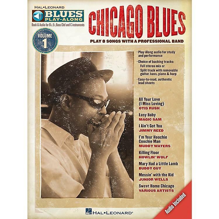 Hal LeonardChicago Blues - Blues Play-Along Volume 1 (Book/CD)