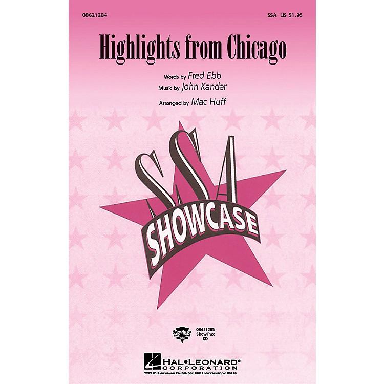 Hal LeonardChicago (Choral Highlights) Arranged by Mac Huff