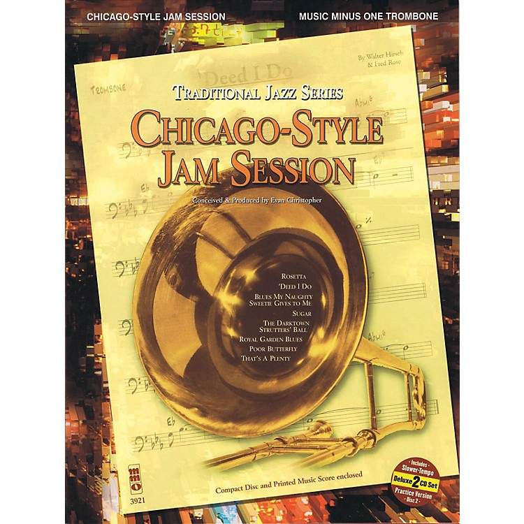 Music Minus OneChicago-Style Jam Session - Traditional Jazz Series Music Minus One Series Softcover with CD