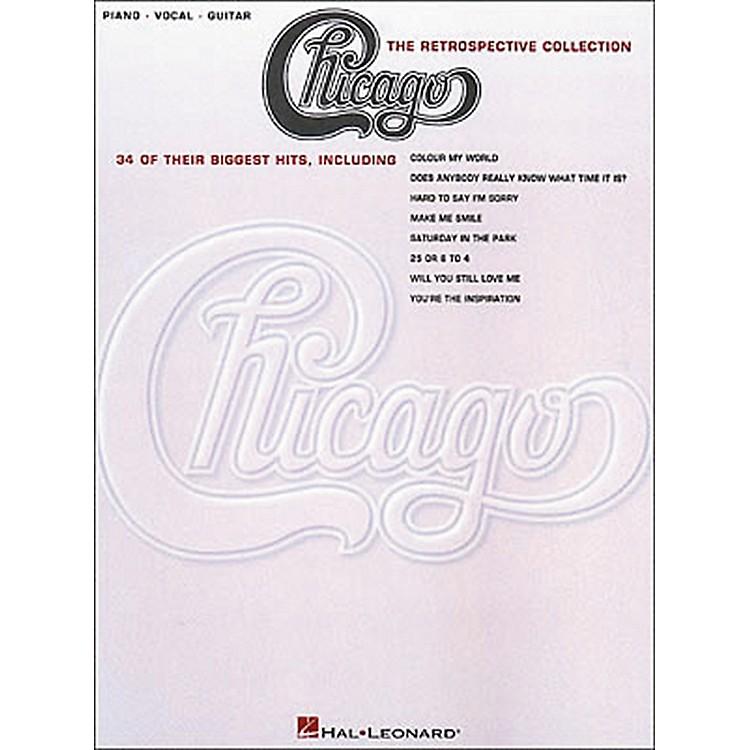 Hal LeonardChicago the Retrospective Collection Piano, Vocal, Guitar Book