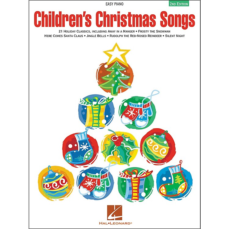 Hal Leonard Children's Christmas Songs For Easy Piano 2nd Edition
