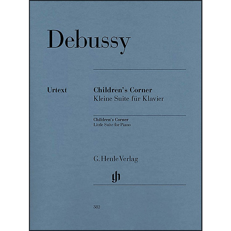 G. Henle Verlag Children's Corner Little Suite for Piano By Debussy